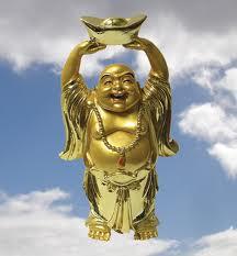 hppy buddha statues